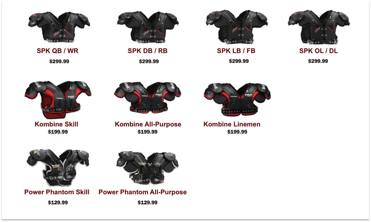 5ff2b2e8685 What Shoulder Pads Are Right For you – IKF Blog Spot