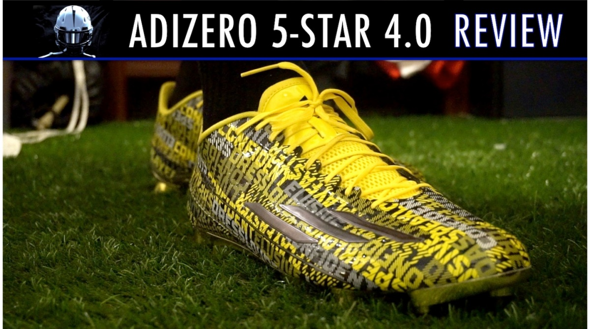 new style 184fe 0acc4 Adidas Adizero 5-Star 4.0 Cleat Review – IKF Blog Spot